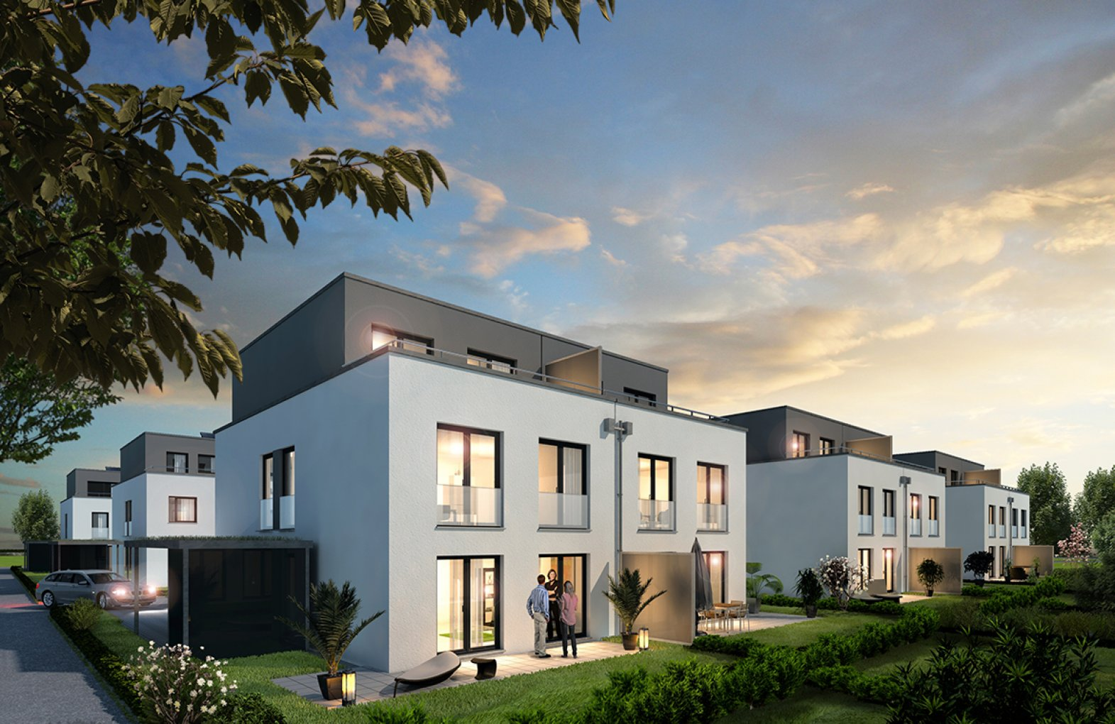 Bright Living Doppelhaushälfte Bad Vilbel